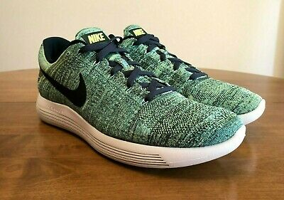 fd7e65419481 Nike Lunar Epic Flyknit Men s Size 14 Seaweed Green 843764-300 Great  Condition