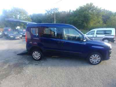 2013 Fiat Doblo Wheelchair Access MyLife Gowrings Mobility Wheelchair Accessible