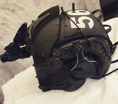 casque helmet protection airsoft paintball space marines cosplay size 55 to 65