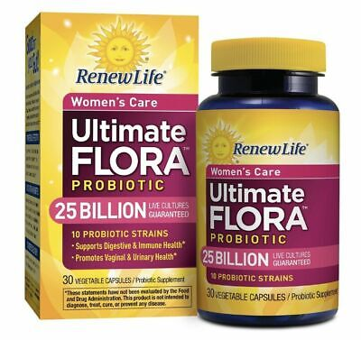 Renew Life Ultimate Flora Women's Care Probiotic 25 billion CFU - 30ct