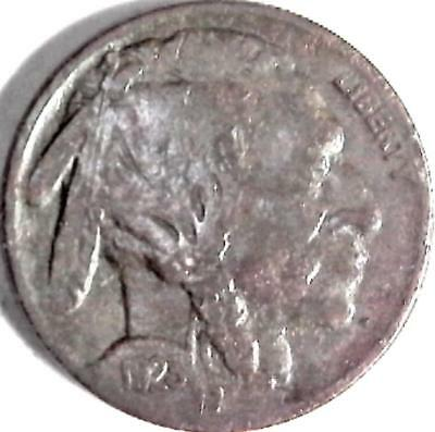 1923 Buffalo nickel 5 cents. Good detail obverse and reverse. 2993