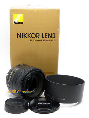 Nikon Af-S Nikkor 85Mm F1.8 G Fast Prime Lens *Excellent Condition*