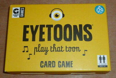 Ginger Fox Eyetoons Play That Toon Travel Card Game