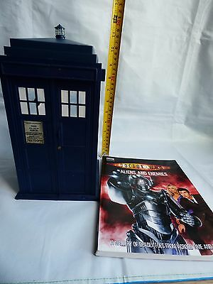 DOCTOR WHO TARDIS CARD CASE HOLDER  BATTLES IN TIME TRADING CARDS 2006 Book