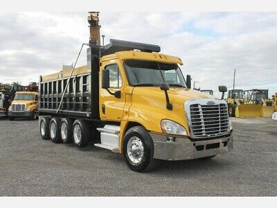 2007 INTERNATIONAL 8600 T/a Steel Dump Truck Cummins Ism