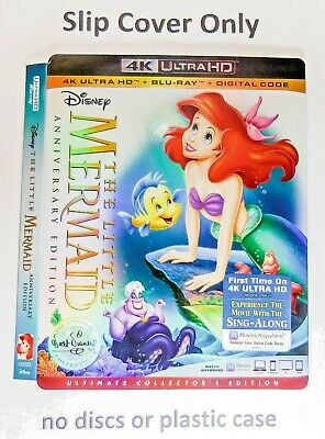 The Little Mermaid 4K Ultra HD - Embossed Slip Cover Only (no blu ray) Ultimate