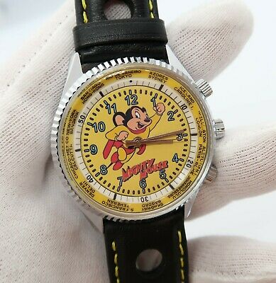 "MIGHTY MOUSE,King Diver/Bradley Bananna"",Manual Wind,MEN'S WATCH,885,L@@K!"
