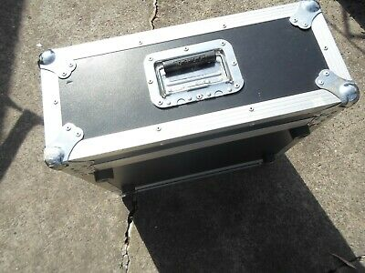Road Ready 4 space Rack Equipment Gear Case Heavy Duty -Excellent used condition