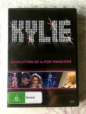 Kylie Minogue Evolution of a Pop Princess The Unauthorized Story DVD Biography