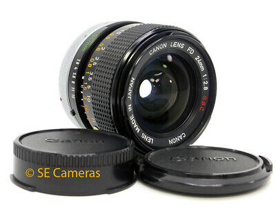 Canon Fd 24Mm F2.8 S.s.c. Wide Lens *near Mint Condition*