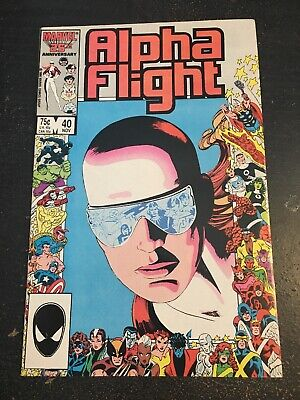 Alpha Flight#40 Incredible Condition 9.4(1986) Anniversary Issue!!