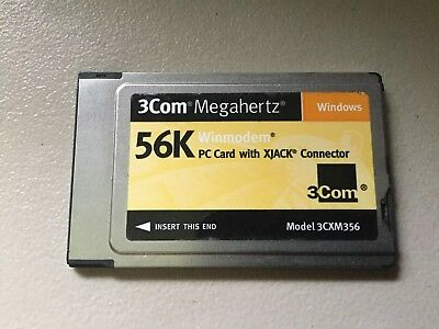 3COM MEGAHERTZ 3CXM356 Modem Drivers for Windows 7