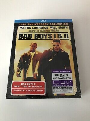 Bad Boys / Bad Boys II (Blu-ray 2-Disc Collection Set) Brand New, Sealed