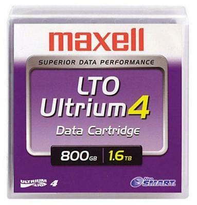 NEW SEALED Lot Of 5 Maxell Ultrium LTO 4 800GB 1.6TB Data Tape Cartridge
