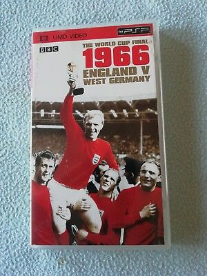The World Cup Final: 1966 - England Vs West Germany; PSP UMD Video; Very Decent