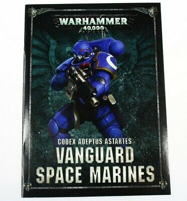 Warhammer 40k Codex Vanguard Space Marines