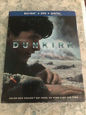 Dunkirk Blu-ray Disc Brand NEW & Sealed-Free Shipping