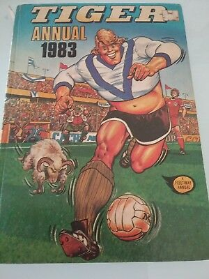 Tiger Annual 1983 In Excellent Condition,