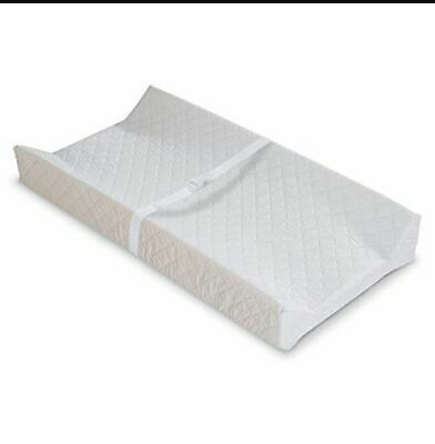 New Changing Pad Contoured Infant Summer Baby Table Diaper Cover White Change