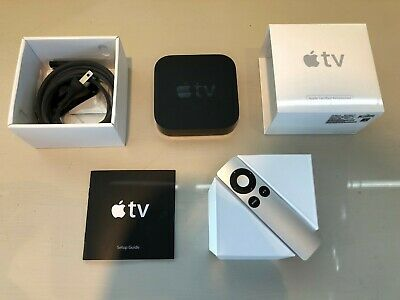 Apple TV - 3rd generation - Model A1469 - Complete w/ all Packaging Materials!