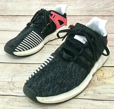 6000e483e8ce Adidas EQT Support 93 17 Boost Running Shoes Mens Size 11 Black Pink BB1234