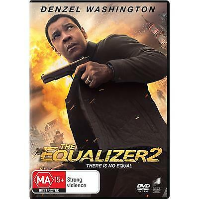 The Equalizer 2 (DVD, 2018) BRAND NEW & SEALED MA15+