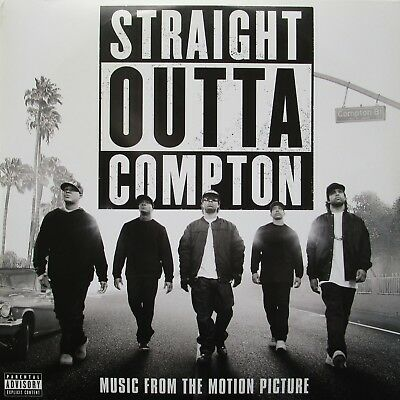 Straight Outta Compton Soundtrack Vinyl 2 x LP Europe 2016 Record