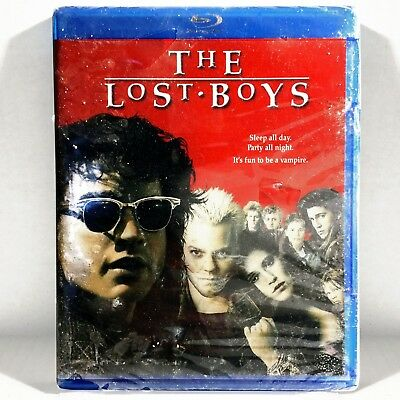 The Lost Boys (Blu-ray Disc, 1987, Widescreen) Brand New ! *  Kiefer Sutherland