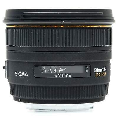 Sigma 50mm f1.4 EX DG HSM Lens for Canon (Boxed)