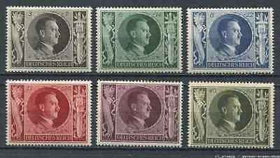 German Reich WW II : Hitler Birthday set from 1943 - Mint NH (BY37)