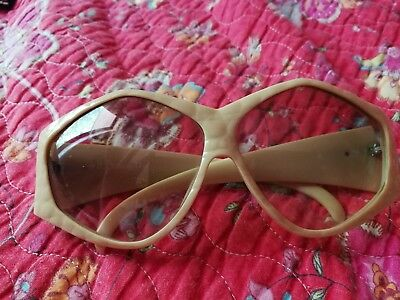 Vintage Oversized Christian Dior Sunglasses Made In Germany 223071