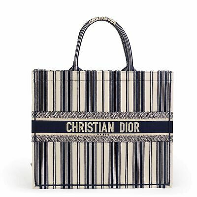8be43440e4cbd9 New UNRELEASED SUMMER 2019 POP UP ITEM Dior Book Tote Stripes Cruise  Collection