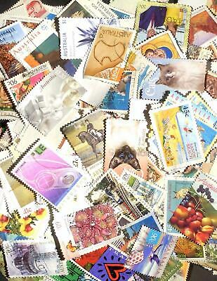 Over 30g good bulk lot of used Australian decimal stamps off paper - hundreds