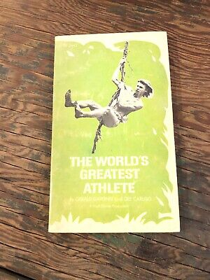 The Worlds Greatest Athlete 1973 Scholastic Book 1st Edition Paperback