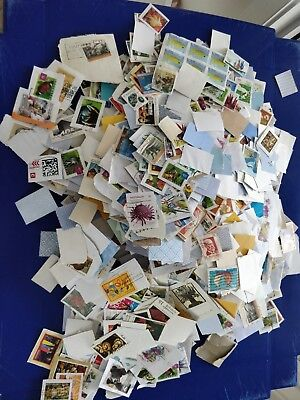 Bulk Australian Decimal Stamps Kiloware Pack of 100 Stamps ON PAPER CANCELLED