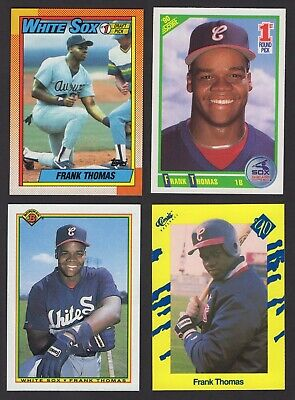 Frank Thomas 1990 Topps Rookie Card Lot X 24 Rc 1999