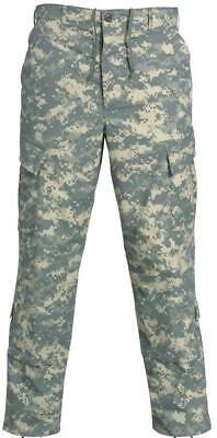 ACU Pants Trousers Digital Camo U.S ARMY Military Preowned Large Long Grade A