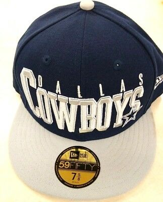 81a267eba51ab Dallas Cowboys Nfl New Era 59Fifty Chop Block Navy   Gray Fitted Hat Cap  37