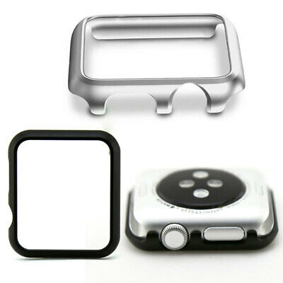 Metal Aluminum Alloy Frame Protective Skin Case / Shell For Apple Watch NEW