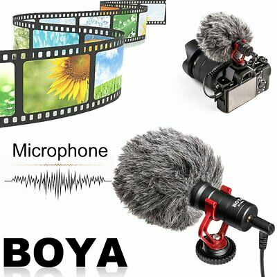 BOYA BY-MM1 Cardiod Shotgun Microphone MIC Video for Smartphone Camera AZ