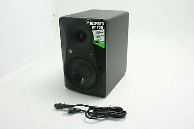 Mackie Powered Professional Studio Monitor 6 Inch MR624 CRACKED WOOFER CONE