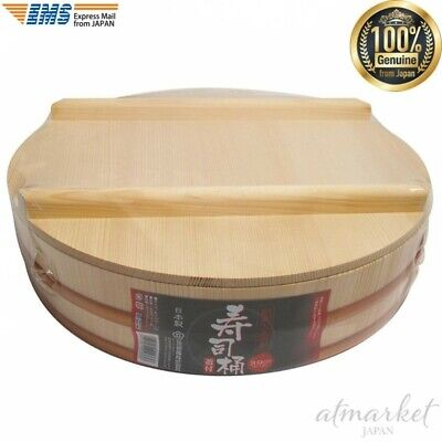 Tachibana container Sushi bowl 39cm With lid genuine from JAPAN NEW