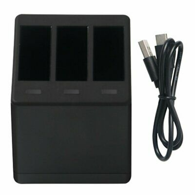 Three Charger Hero7 Battery Charging Accessories For Go pro Hero 5 6 7 NK