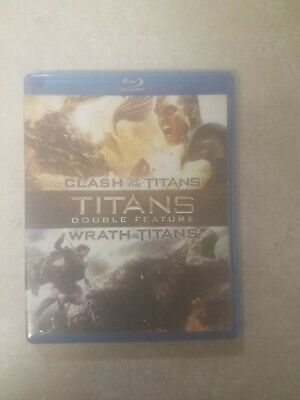 Clash Of The Titans/Wrath Of The Titans Double Pack Blu Ray
