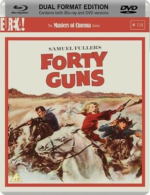 Forty Guns (1957; Blu-Ray + DVD) REGION B/2 — LIKE NEW — Masters of Cinema