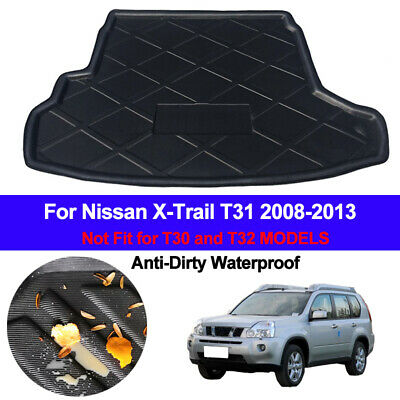 Rear Boot Cargo Liner Trunk Floor Mat Tray For Nissan X-Trail Xtrail T31 08-2013