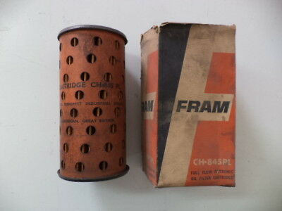 Fram Ch843Pl Oil Filter Armstrong Siddeley,atlas,ford,ih,farmall,marshal Tractor