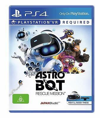 Astro Bot Rescue Mission VR PlayStation 4 PS4 Brand New Game