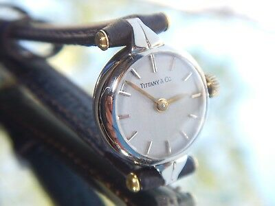 TIFFANY & Co Ladies Watch 14ct Gold By GIRARD PERREGAUX  Vintage 1940 | RESTORED