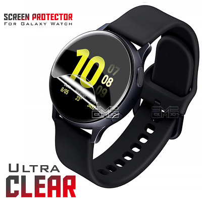Samsung Galaxy Gear Watch Active | Active 2 Clear Full Coverage Screen Protector